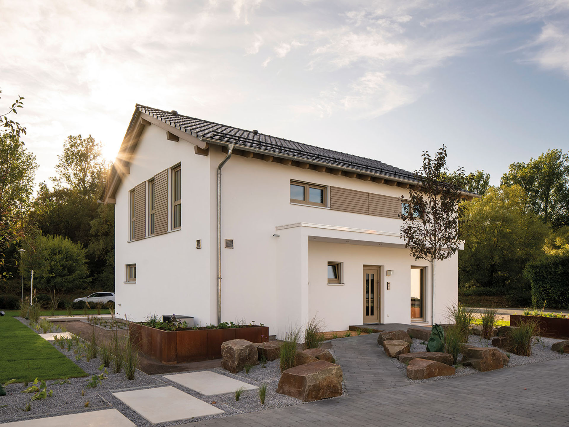 Fertighaus Musterhaus SENTO in Frankenberg