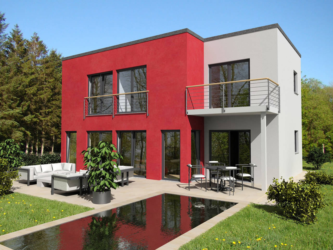 Typ Bauhaus von Energiesparhaus+ Projekt