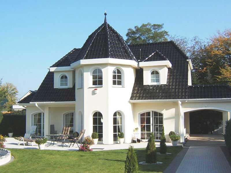 Villa White Pearl 130 von domoplan massivhaus