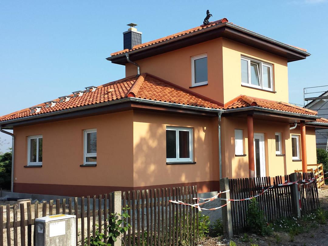 mediterranes Haus von MMH MeisterMassivHaus