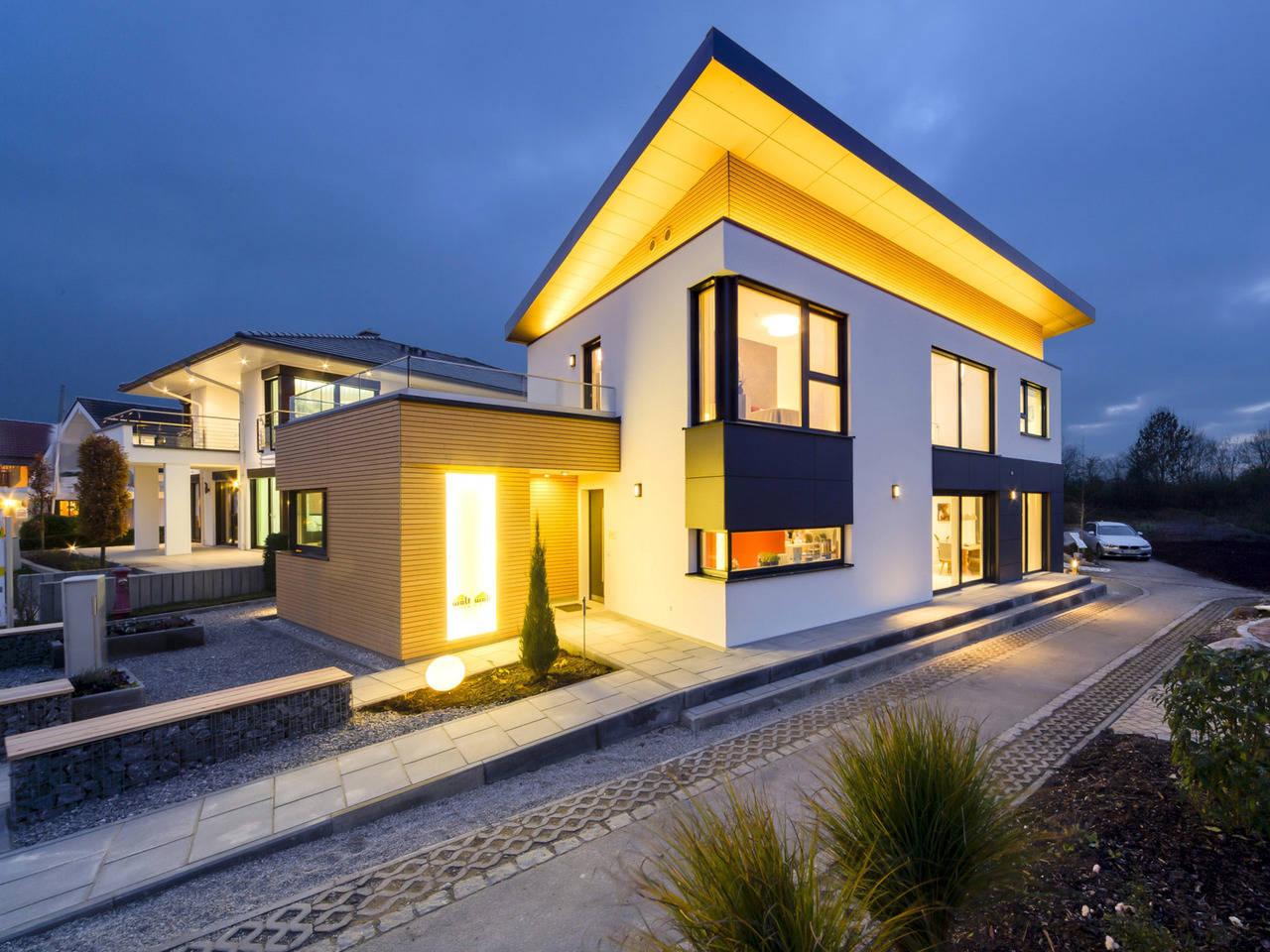 WOLF Haus Deutschland Pultdachhaus