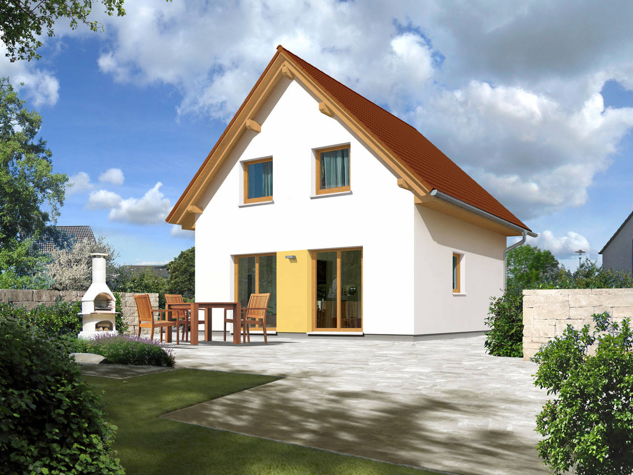 Haus Aspakt 90 von HAPPY HAUS BAU - Town & Country Partner