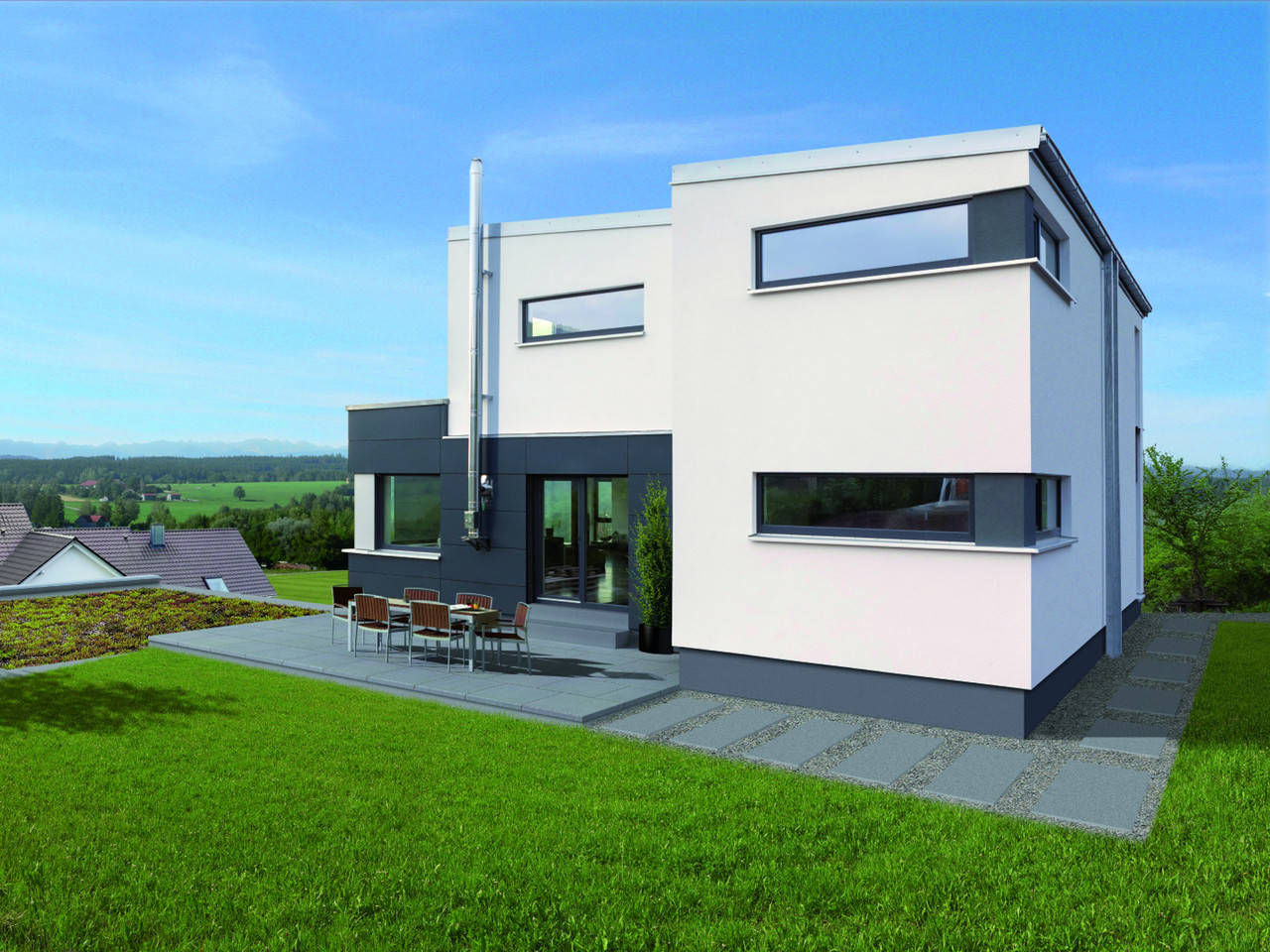 Zimmermann Haus Musterhaus Edition 187
