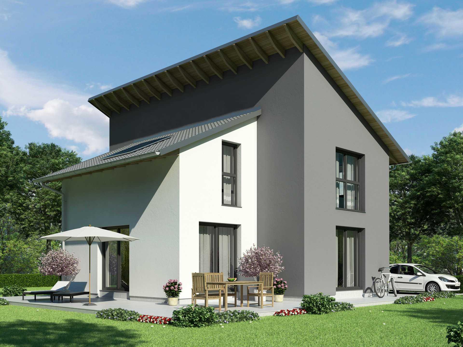 Pultdachhaus Ambiente von Hense Hausbau
