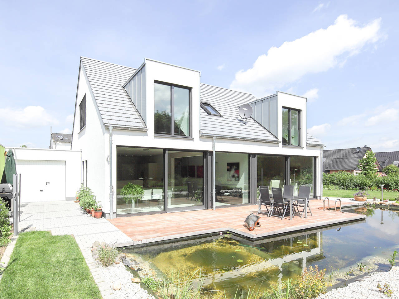 Beispielhaus 1 von Holzbau Becker & Sohn