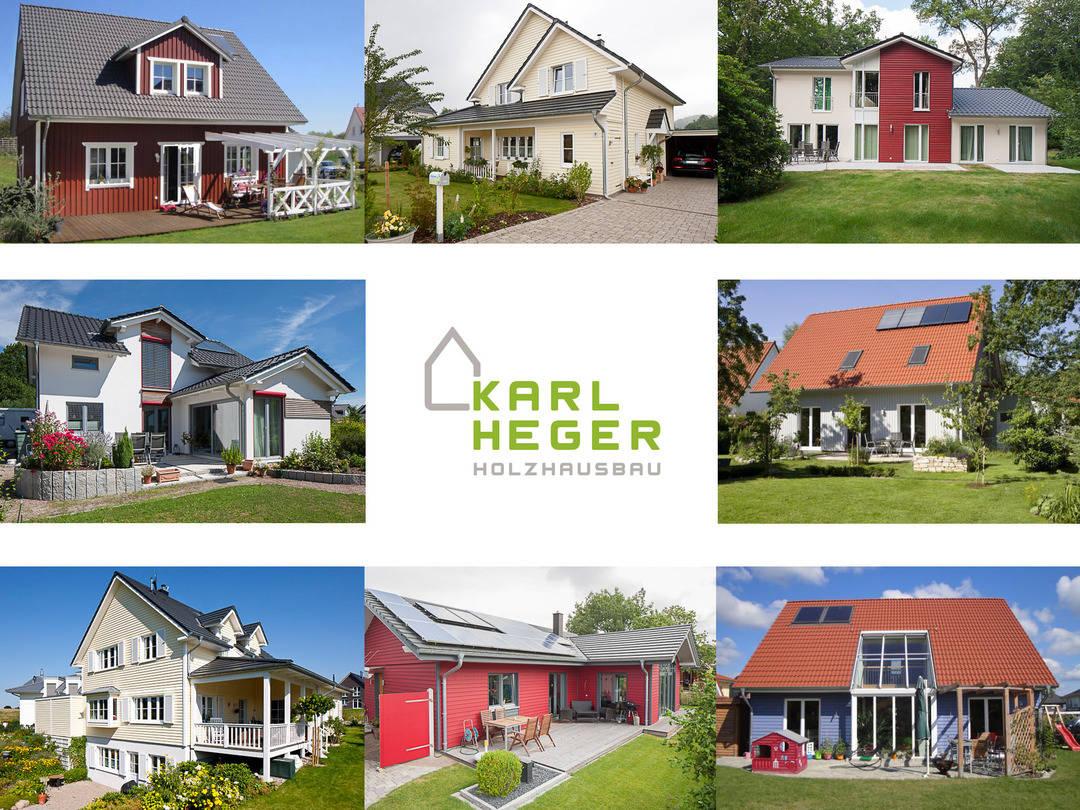 Karl Heger Holzhausbau Bildergalerie