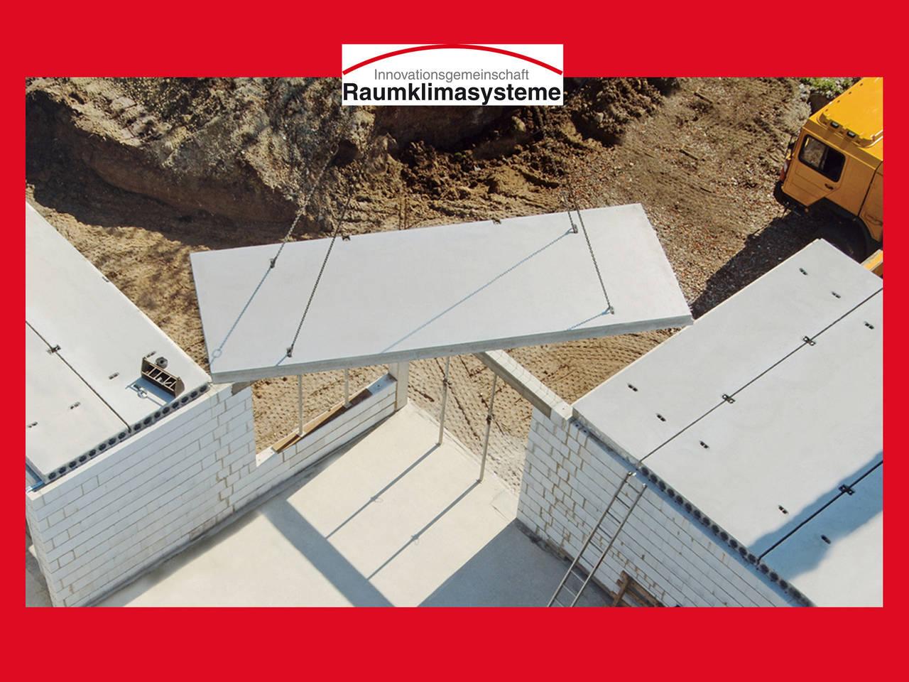 Baustelle Innovationsgemeinschaft Raumklimasysteme