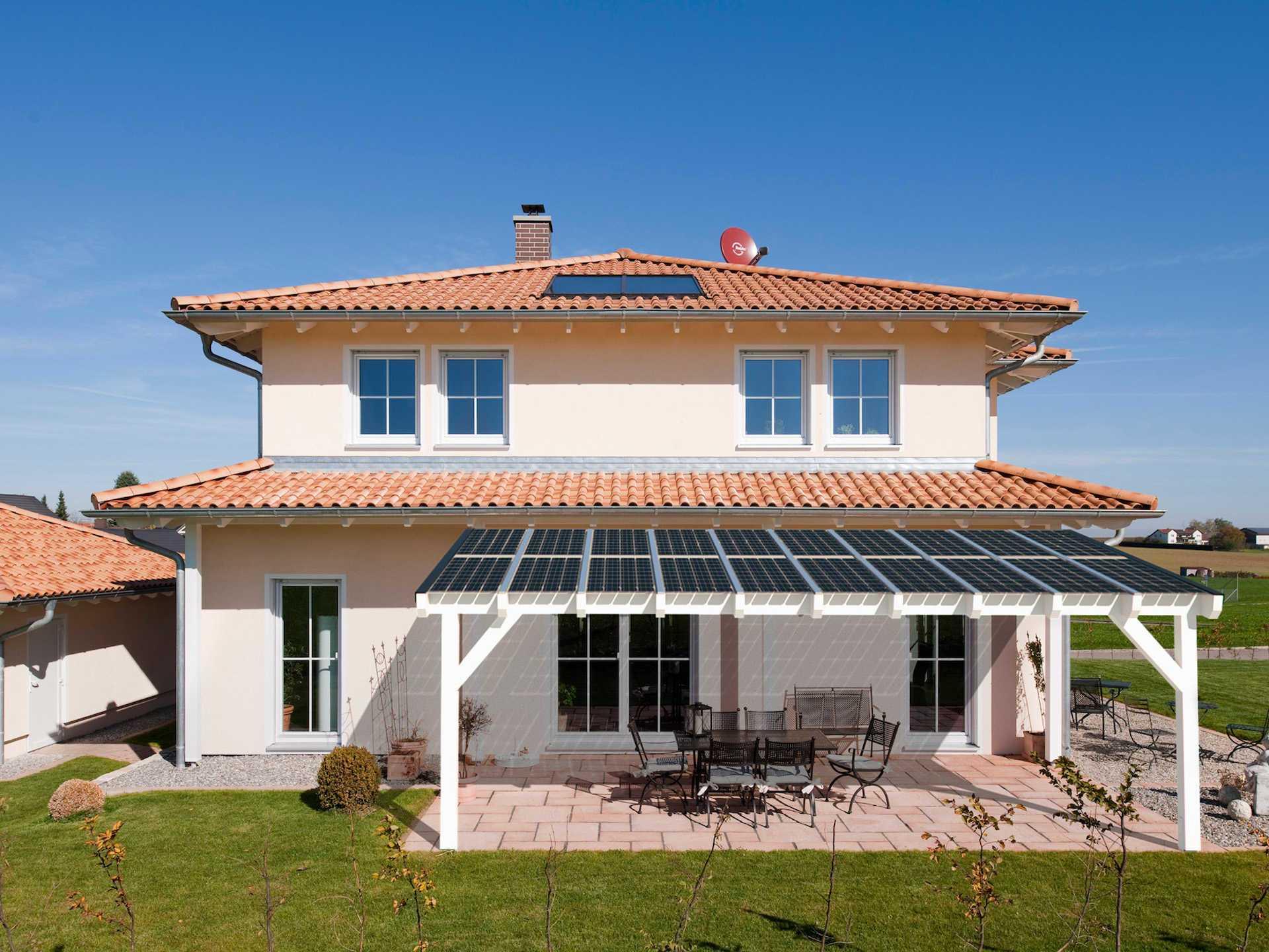 Aussenansicht Solarterrasse Premium