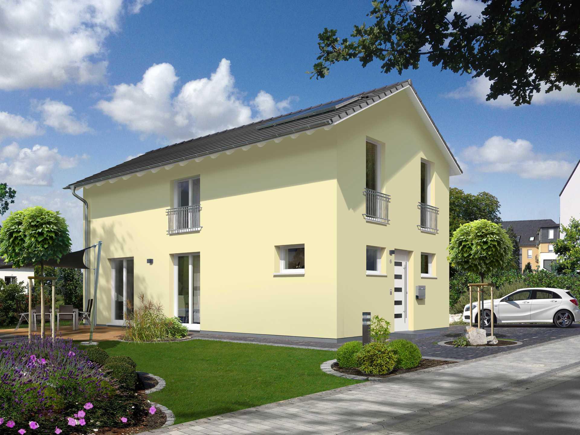 Haus Aura 125 Trend von Hegau Massivbau