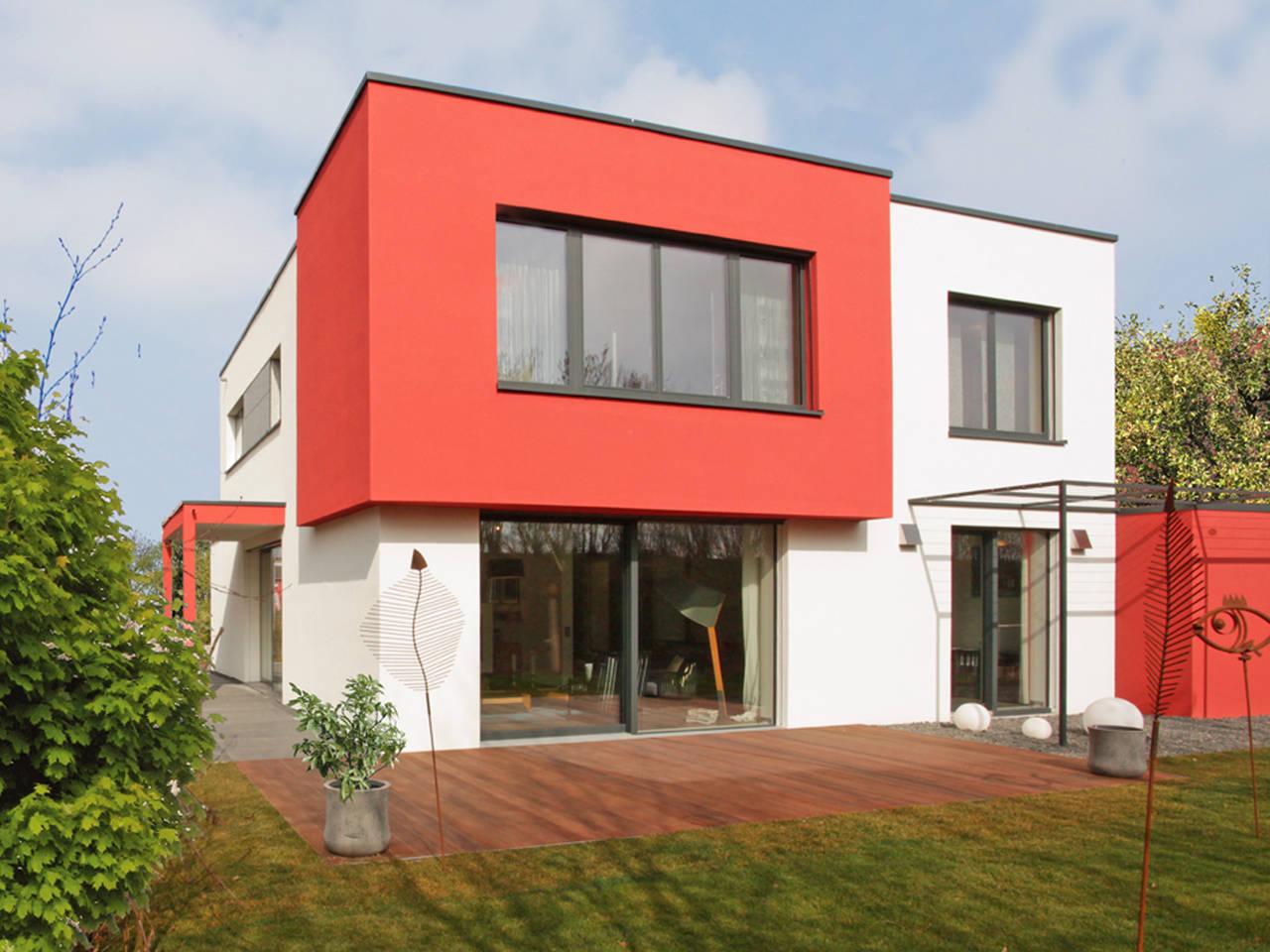 Rötzer Ziegel Element Haus Musterhaus München