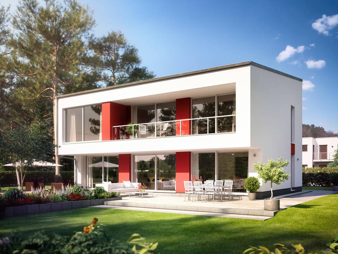 Bauidee Haus Modern 4000.2