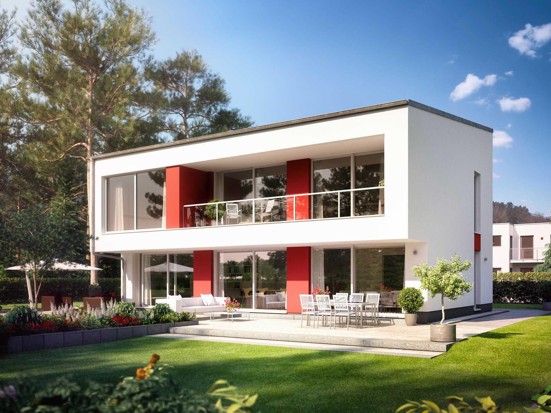 Bauidee wohlf hl h user for Zweifamilienhaus modern