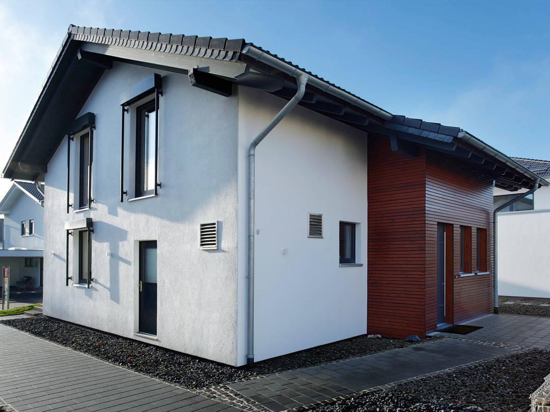 Musterhaus Wuppertal Ansicht Eingang von Partner-Haus