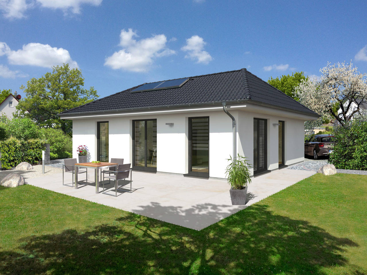 Bungalow 92 Elegance von Nickol Hausbau - Town & Country Partner
