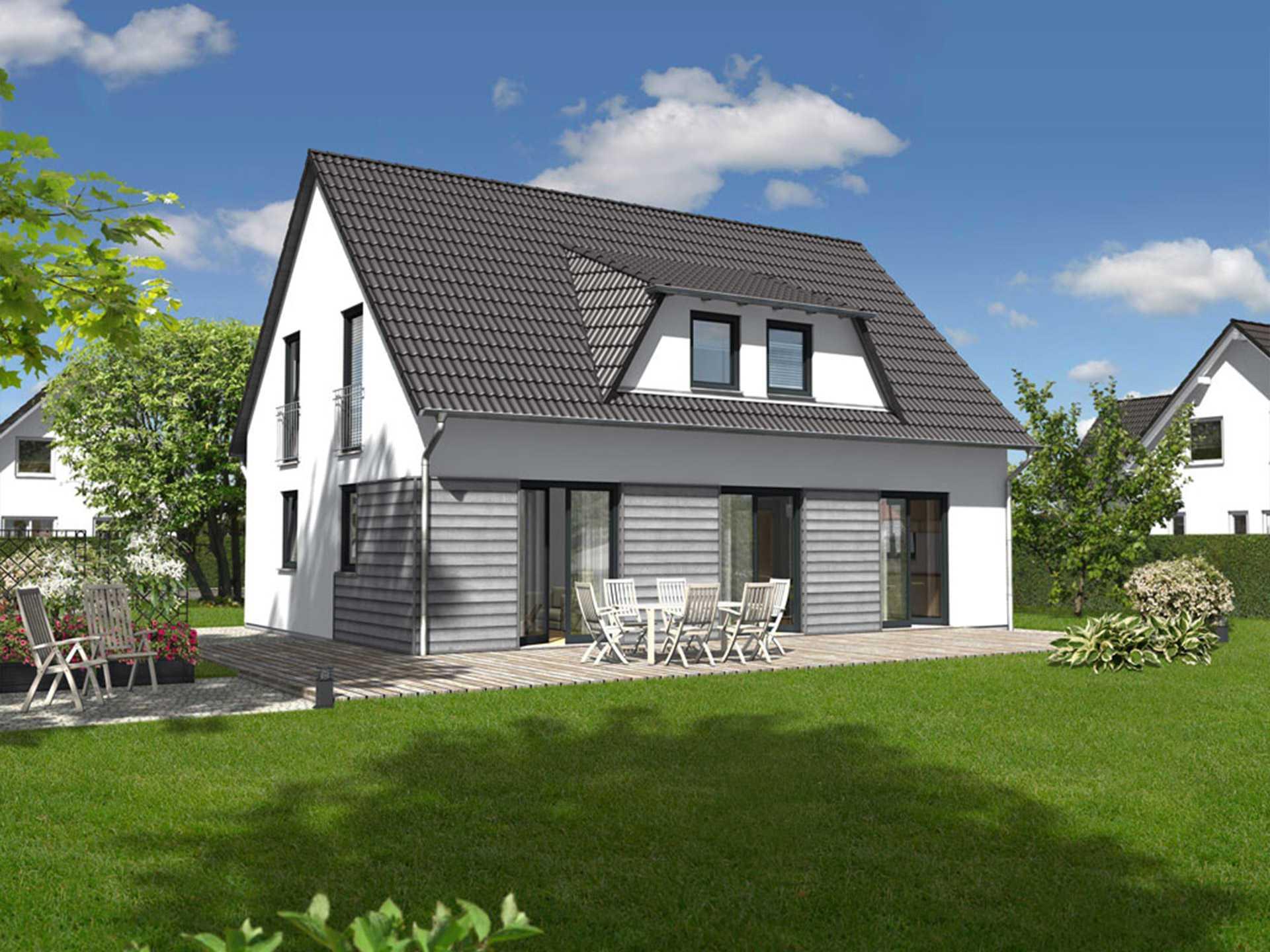 Landhaus 142 Elegance A1 von Nickol Hausbau - Town & Country Partner
