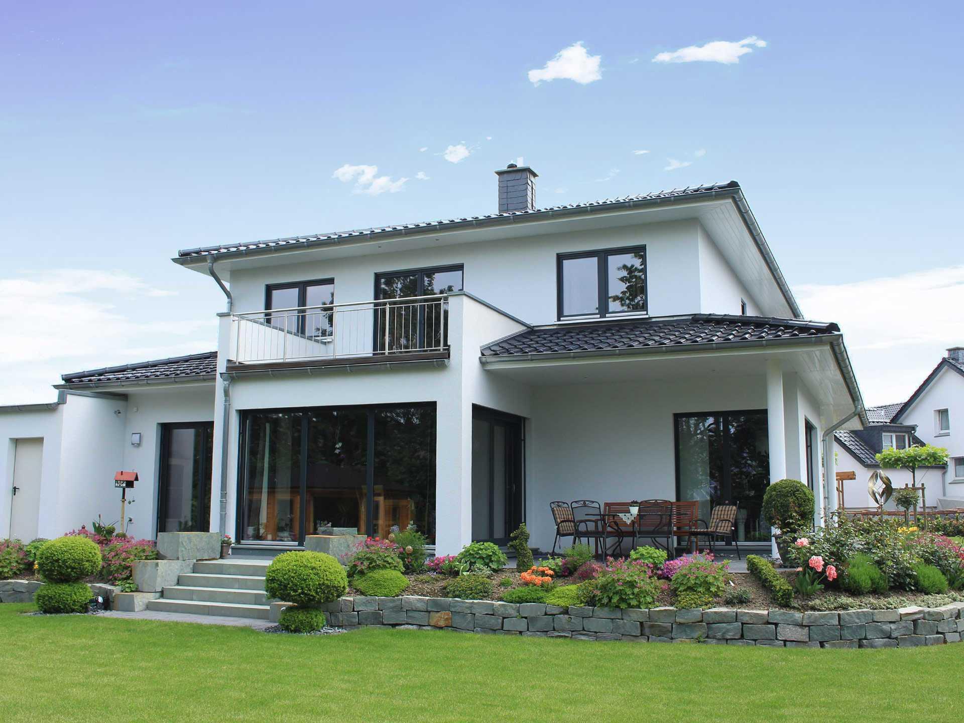 Theodor roreger holzbau for Moderner baustil einfamilienhaus