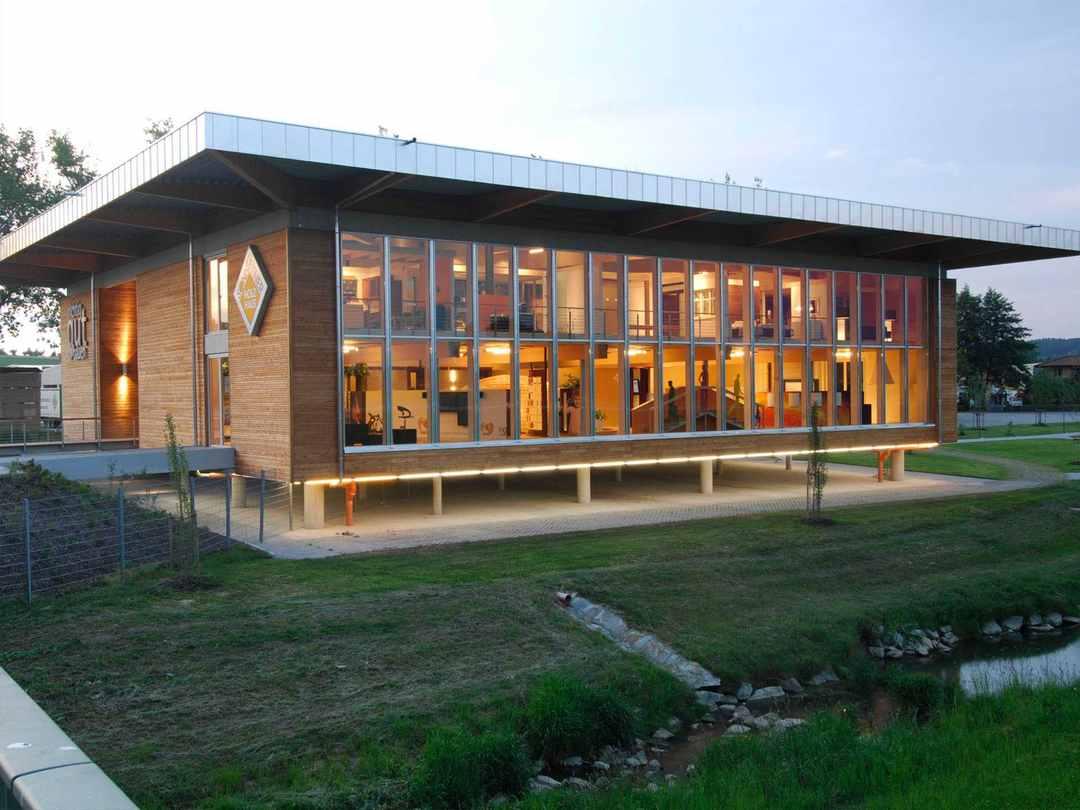 Sonnleitner Holzbauwerke Kundenzentrum