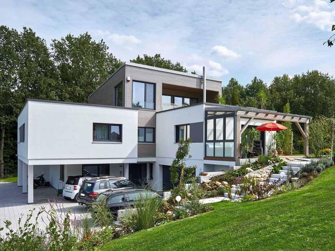 Sonnleitner Holzbauwerke Referenzhaus 2