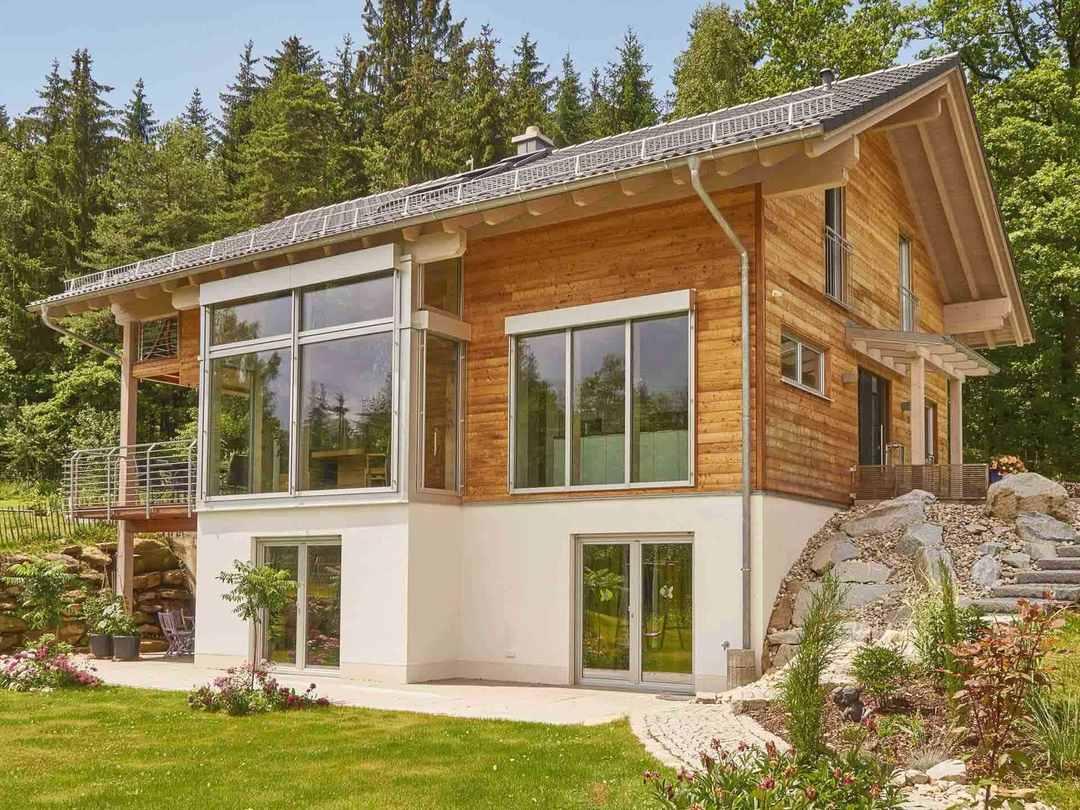 Sonnleitner Holzbauwerke Referenzhaus 1