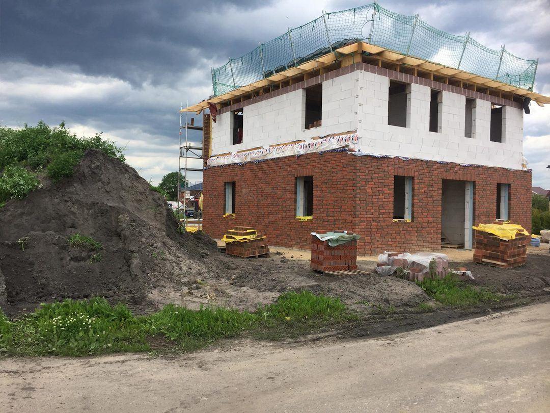 Baustelle - Norddeutschland - Einfamilienhaus