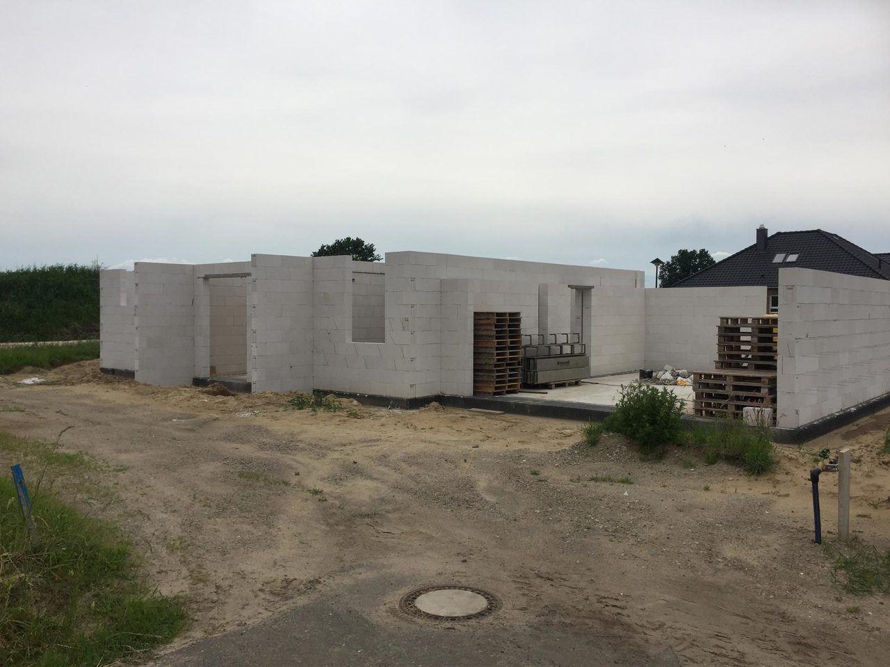 Baustelle - Norddeutschland - Rohbau EFH