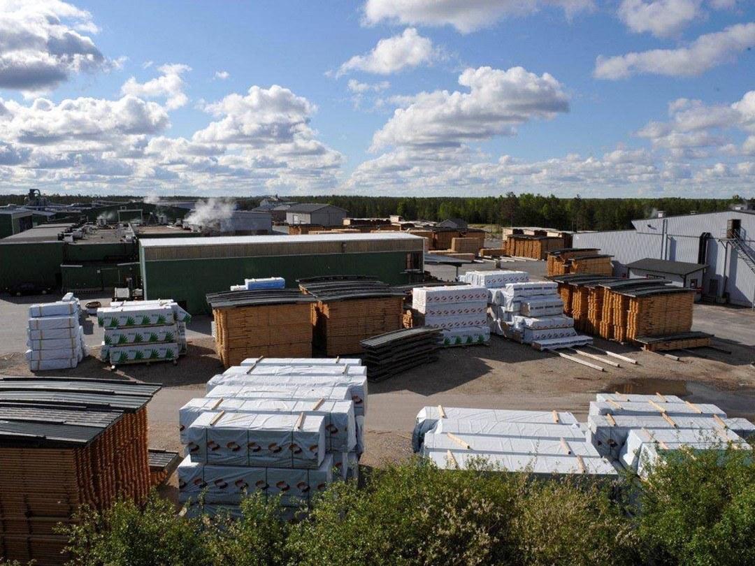 Finnland Block - Werksgelände