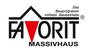 FAVORIT MASSIVHAUS Logo