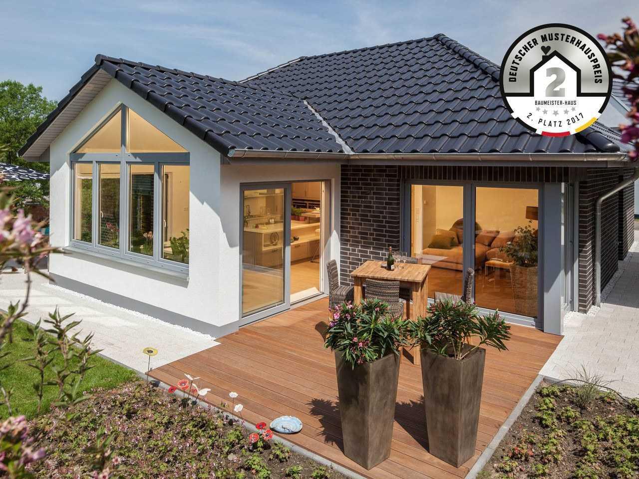 AIM Hausbau - Baumeister-Haus Bungalow Riedel