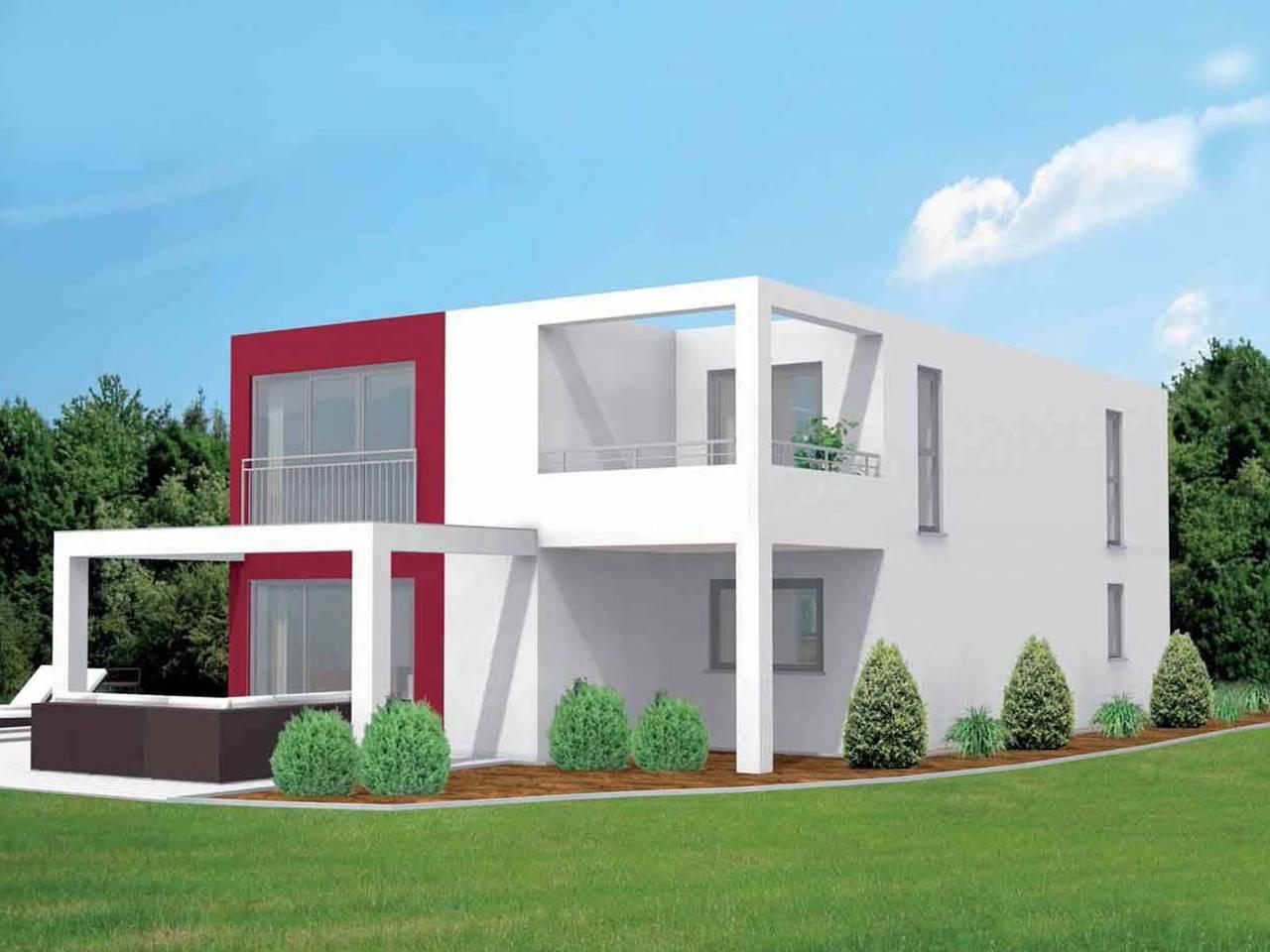Designerhaus Cube 164 von Econ Haus