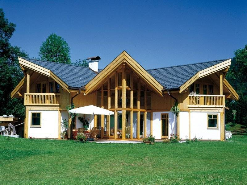 Architektenhaus mit 3 Giebeln von Vöma-Bio-Bau