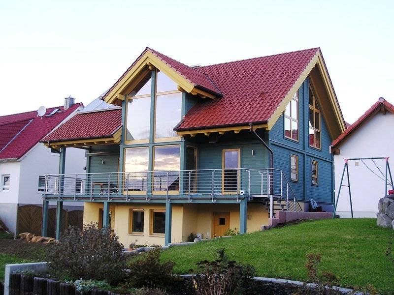 Biohaus im Landhausstil von Vöma-Bio-Bau