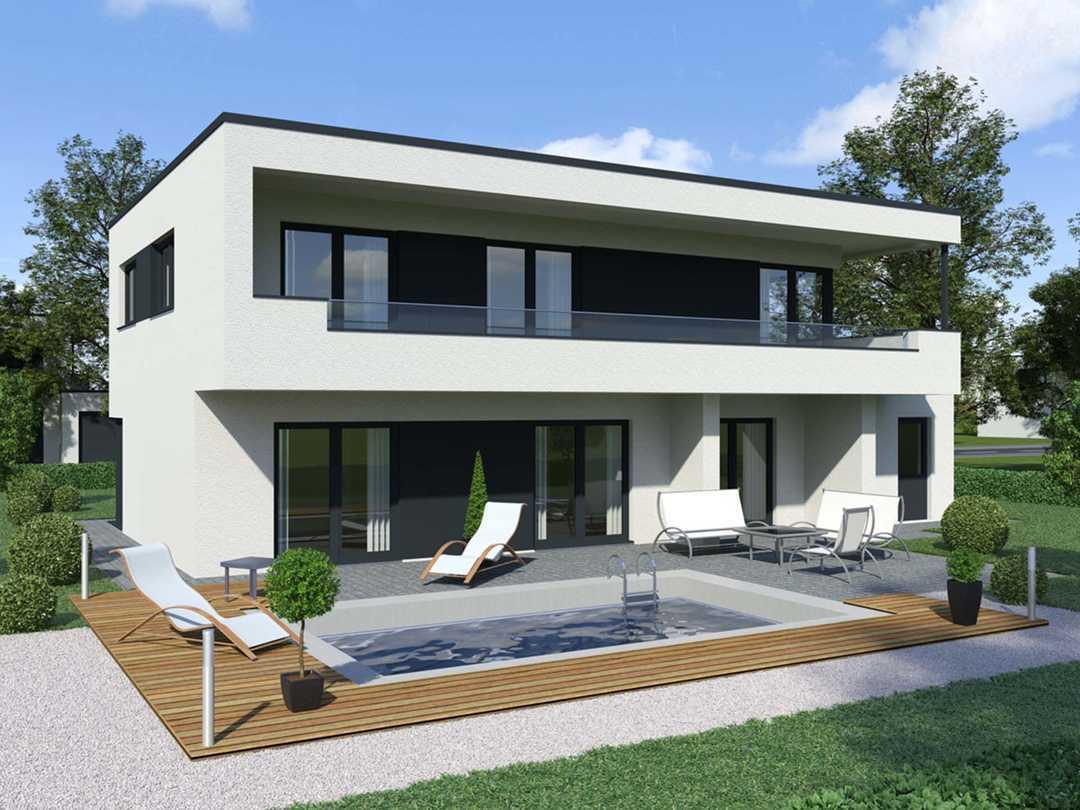 Bauberater.de - Modernes Haus mit Flachdach