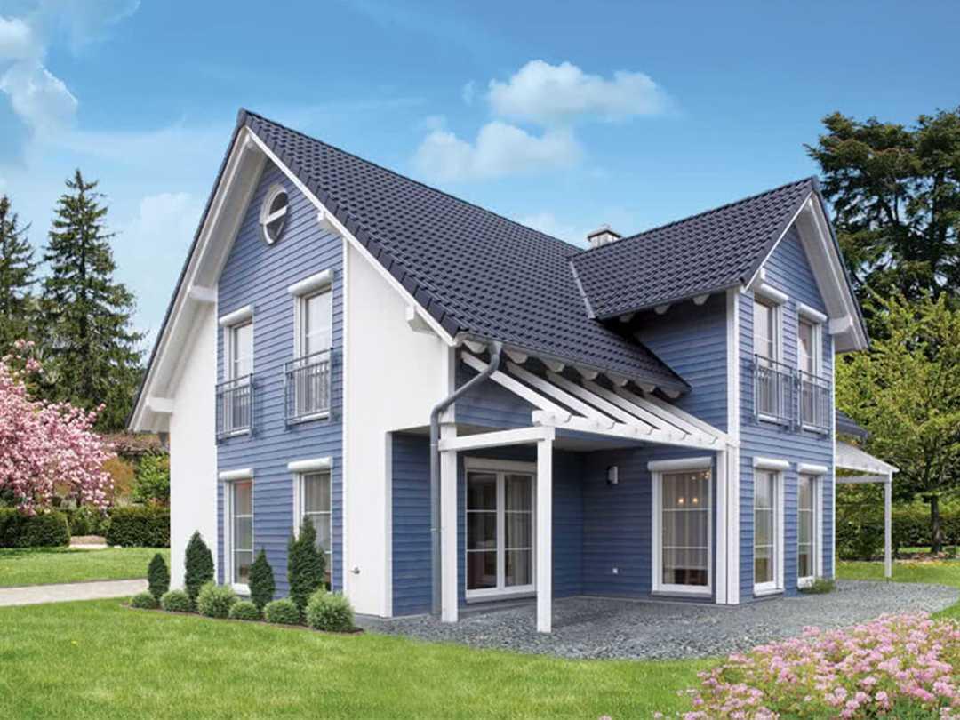 Eineinhalbgeschossige Häuser IBK-Haus