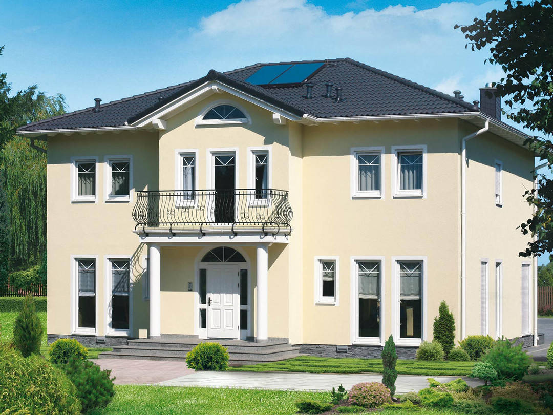 Fertighaus Servicebüro Schwarz Villa Classic 235