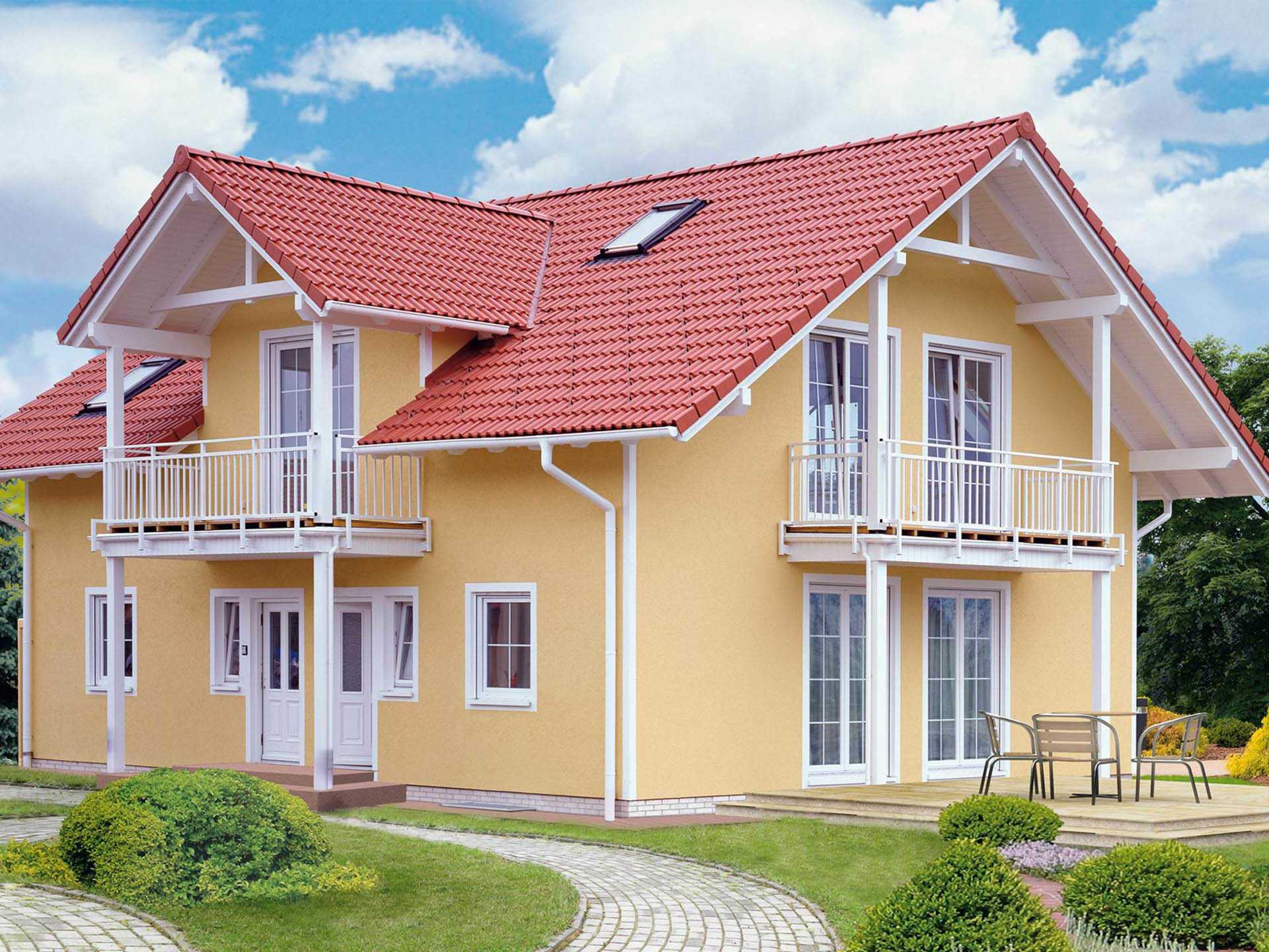 Fertighaus Servicebüro Schwarz Landhaus Credo 222