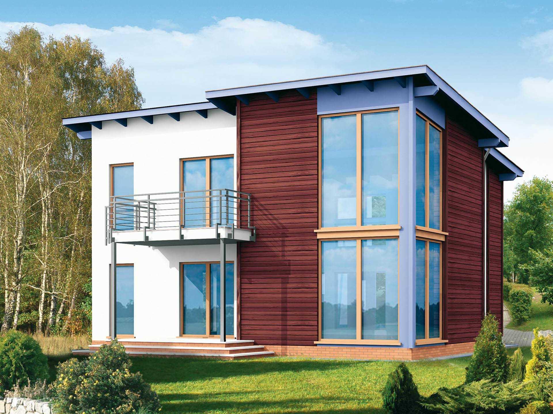 Fertighaus Servicebüro Schwarz Designhaus Flat 176