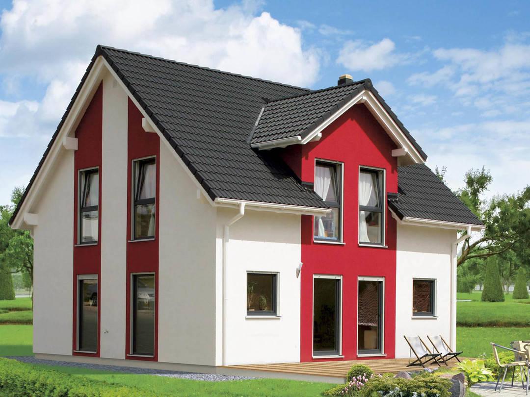 Fertighaus Servicebüro Schwarz Einfamilienhaus Point 127