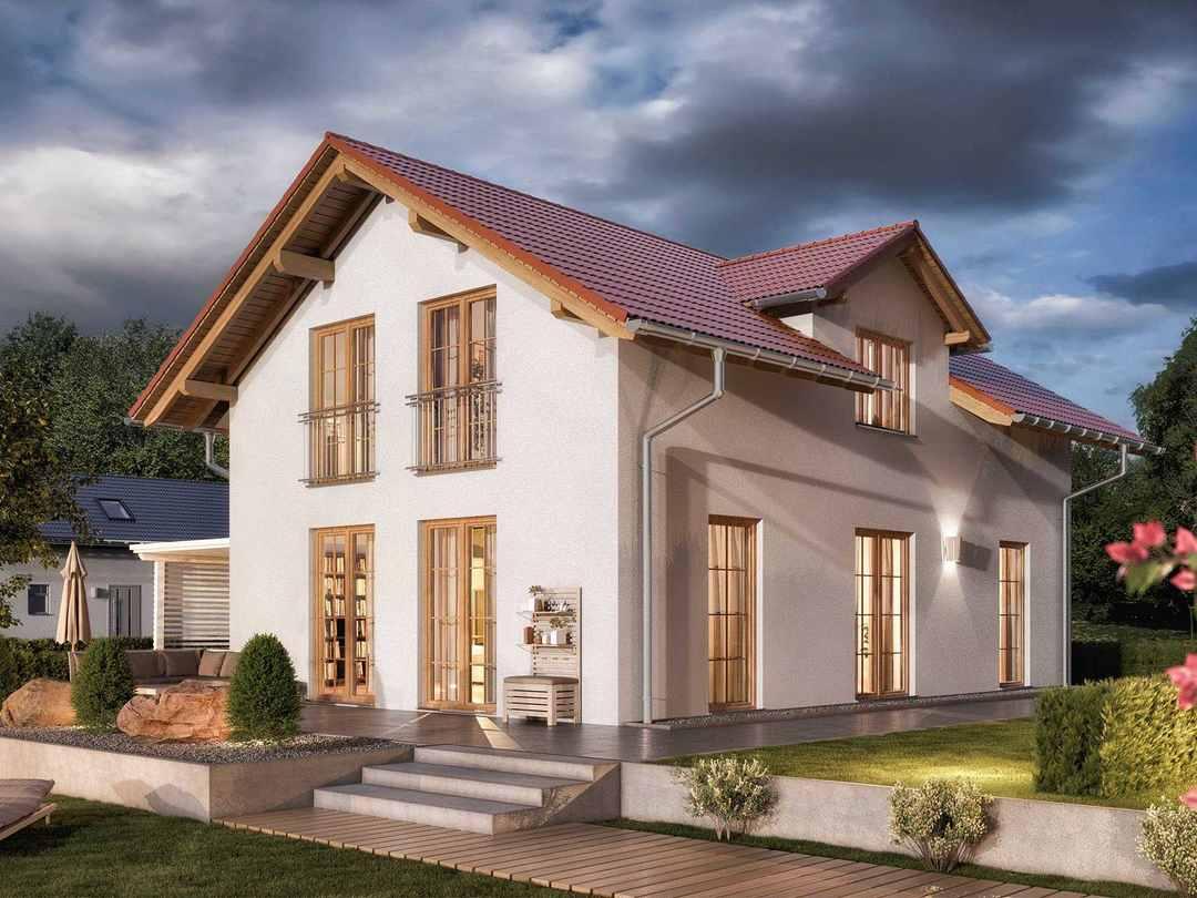 Einfamilienhaus Bodensee 129 Süd