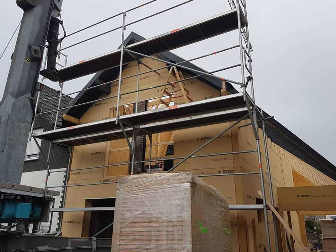 Holzbau Küppers Baustelle