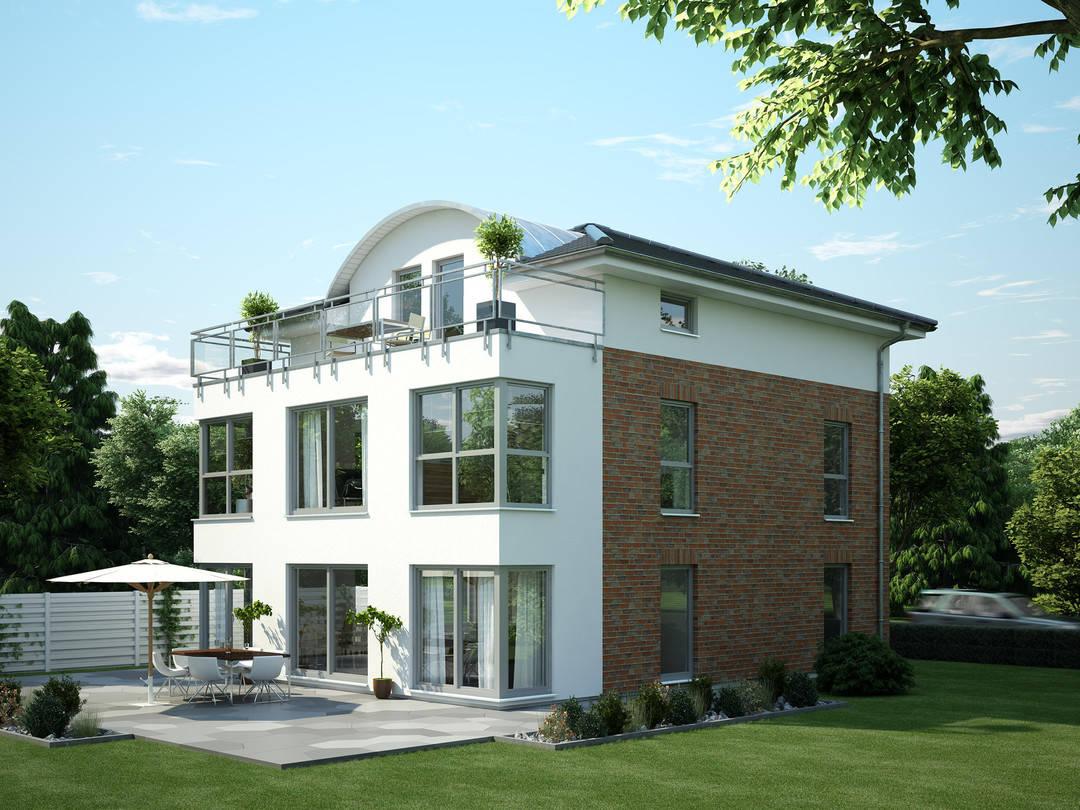 OKAL Haus Stadtvilla Hausentwurf Studio-Loft