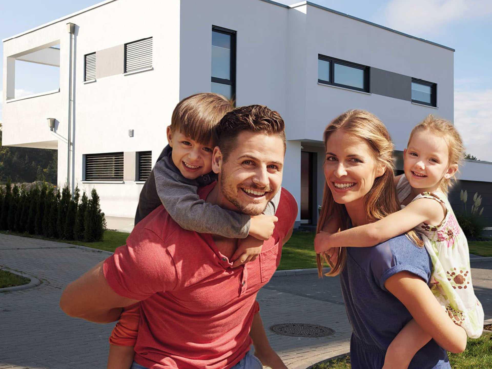 Siewert Hausbau - Hausbau-Familie