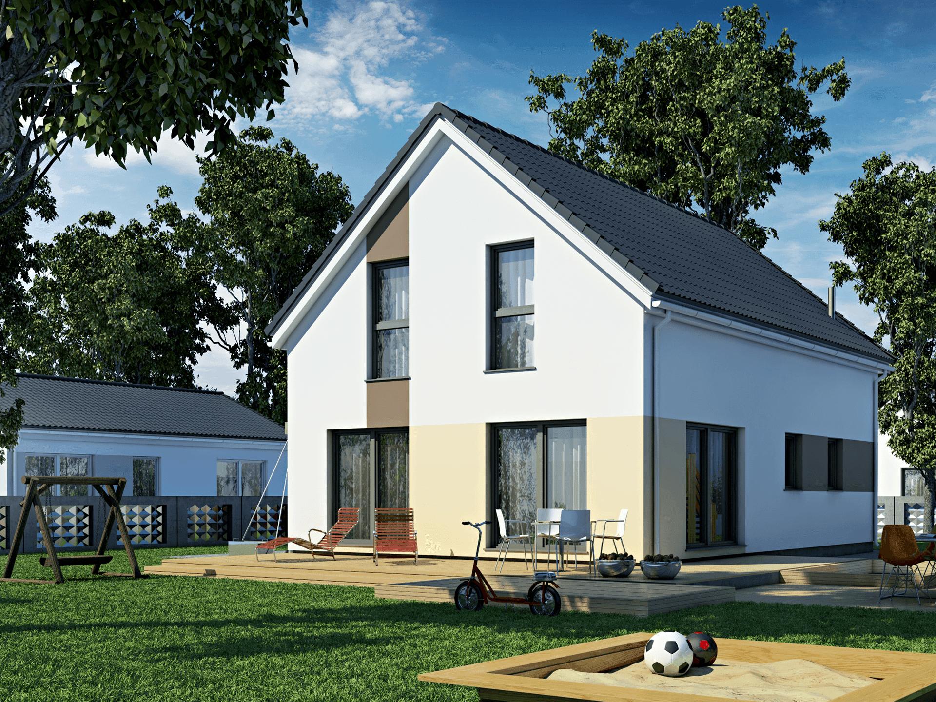 DAN-WOOD House Einfamilienhaus family 134 v1