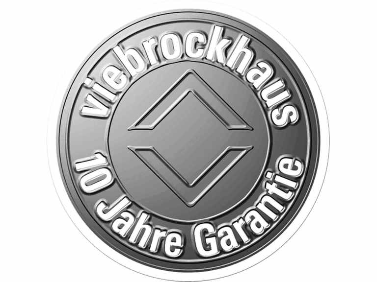 Bei Viebrock erhalten Sie 10 Jahre Garantie