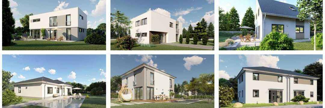 Laure Baubetreuung - Visualisierungen Hausbeispiele