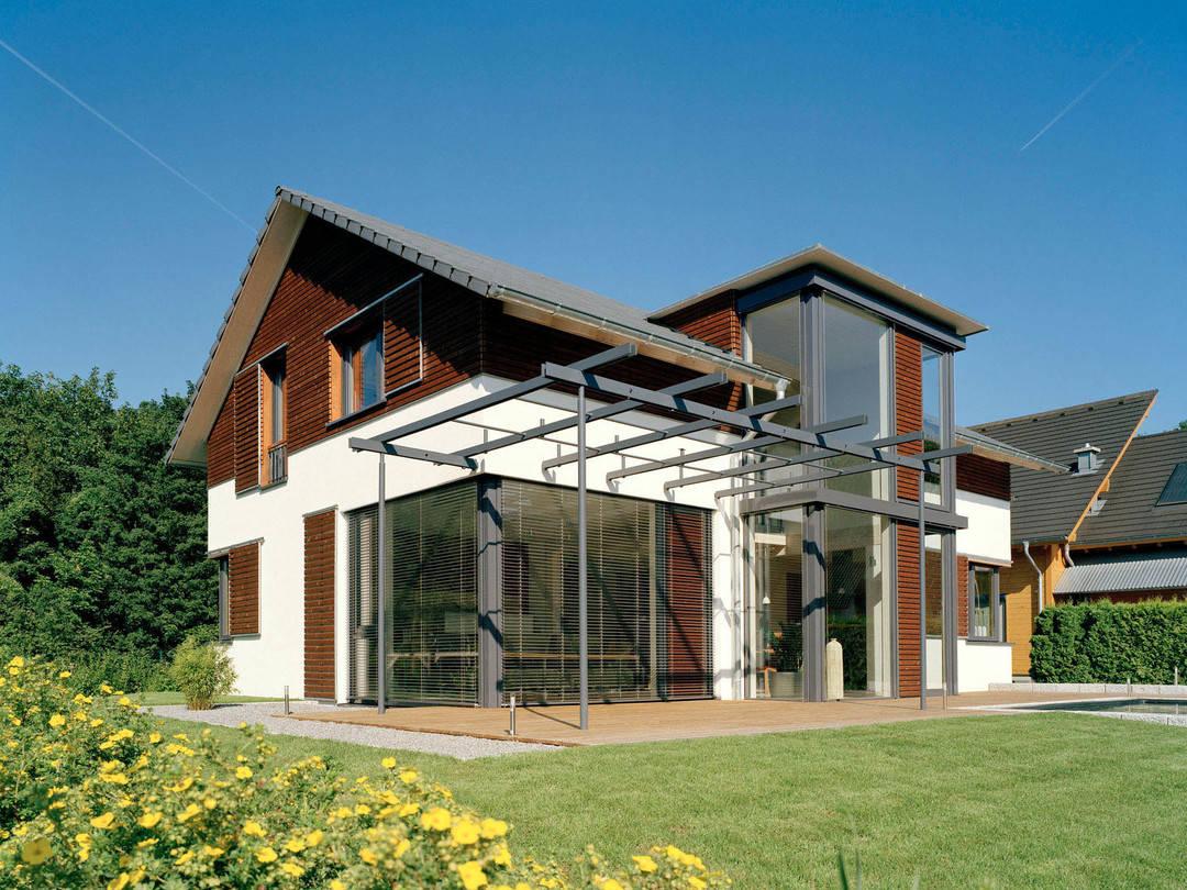 Frammelsberger Holzhaus Musterhaus Design 168
