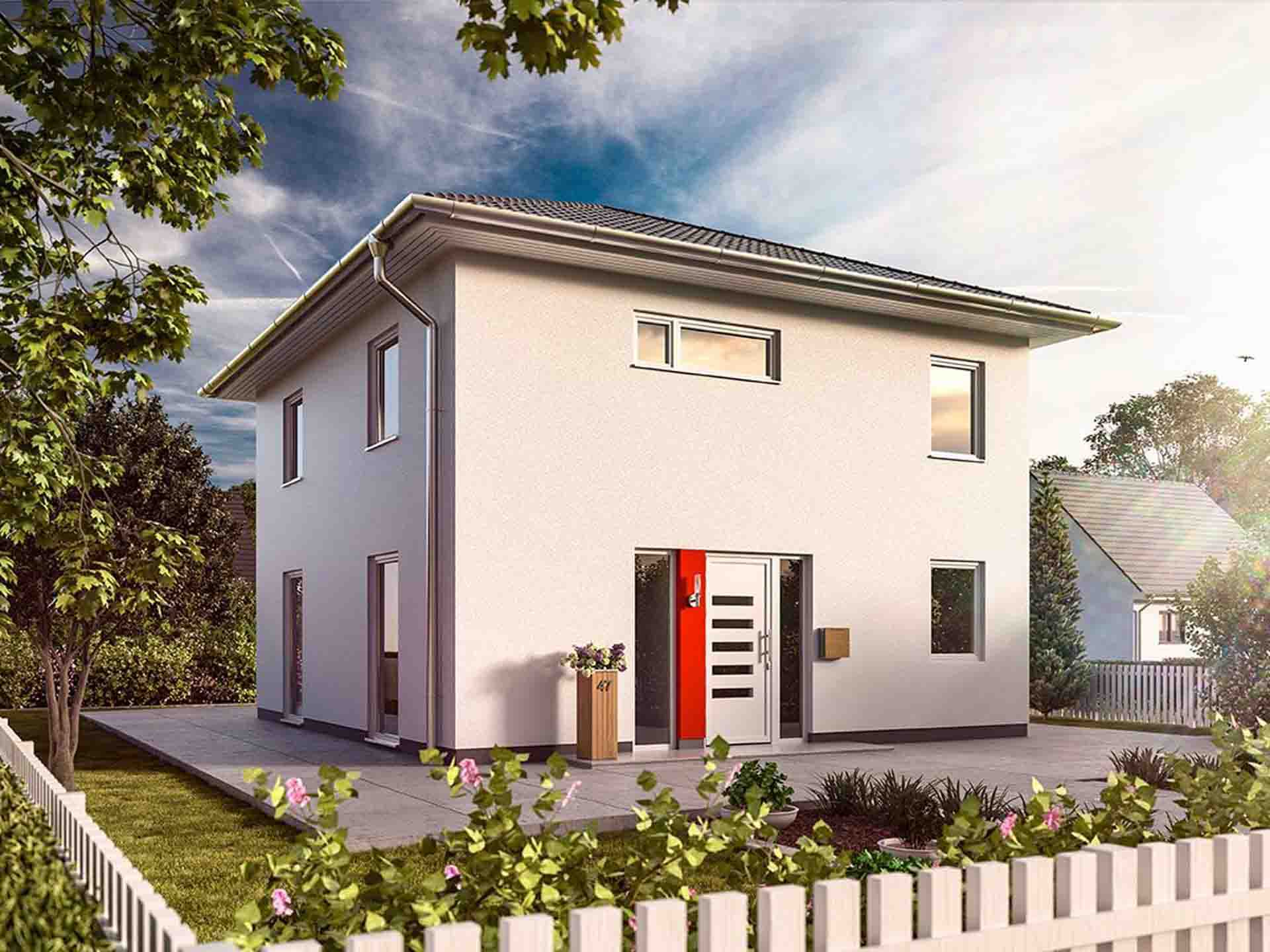 KUBE Massivhaus - Town & Country Stadthaus 124