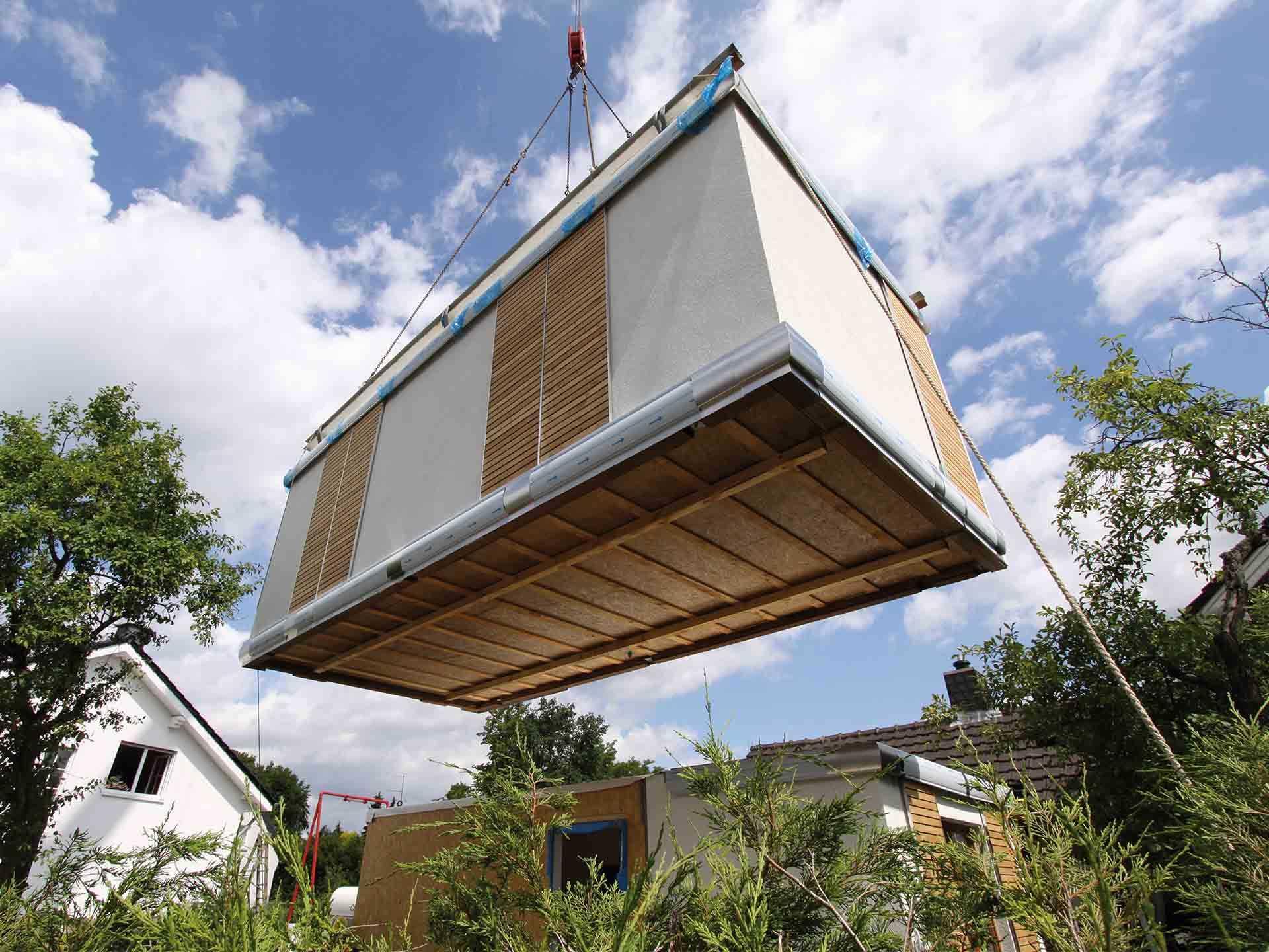 Smart House Baustelle