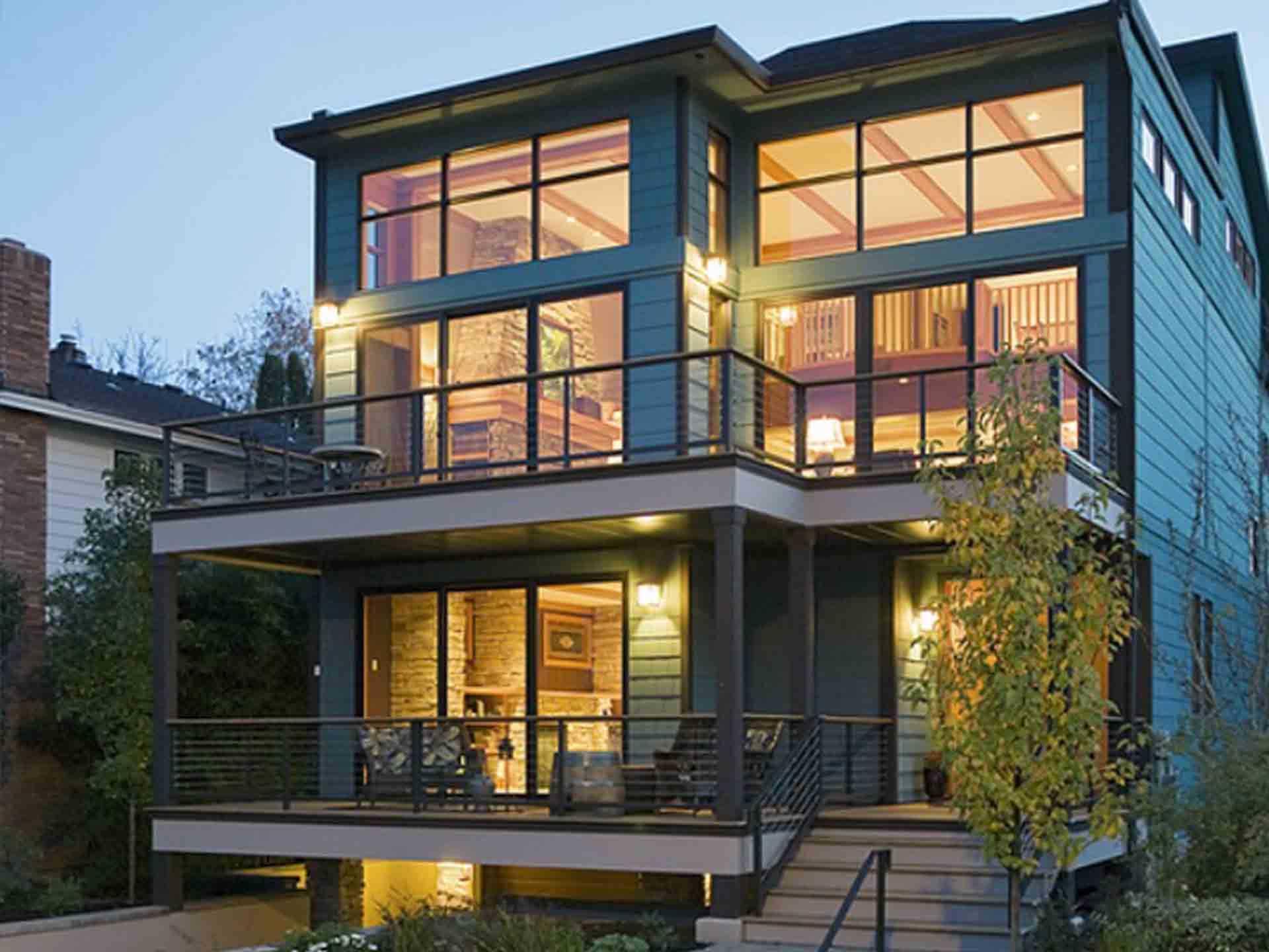 Hausbau Format Referenzhaus