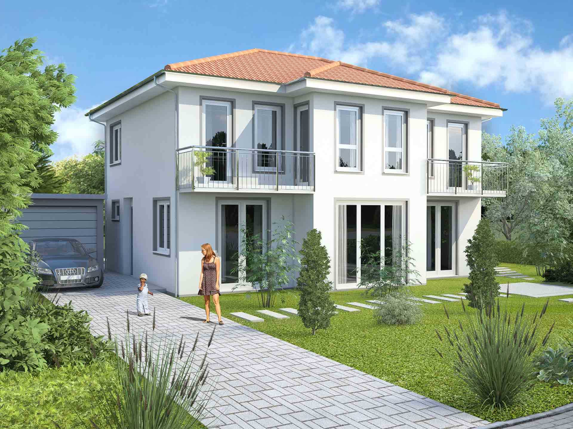Homeland Massivhaus - Stadtvilla