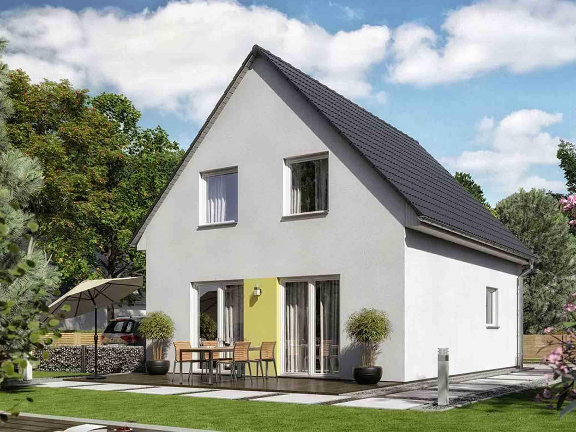 BauArt Massivbau - Town & Country - Einfamilienhaus Raumwunder 90